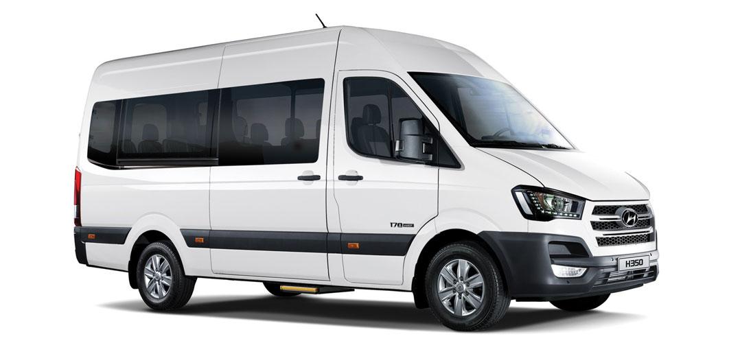 """Hyundai H350'nin """"okul servisi"""" versiyonu satışa sunuldu ..."""