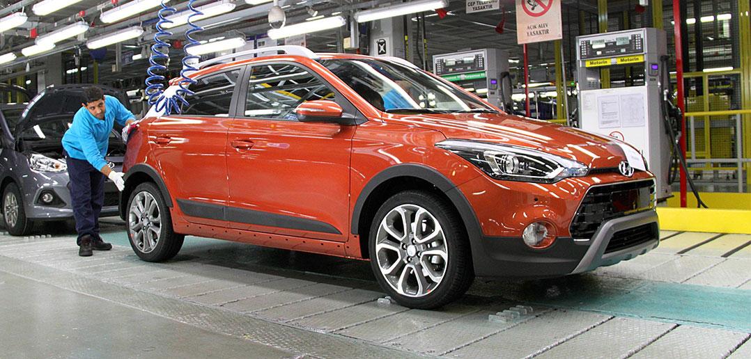 Hyundai i20 Active'in üretimi İzmit'te başladı | OtoYazar
