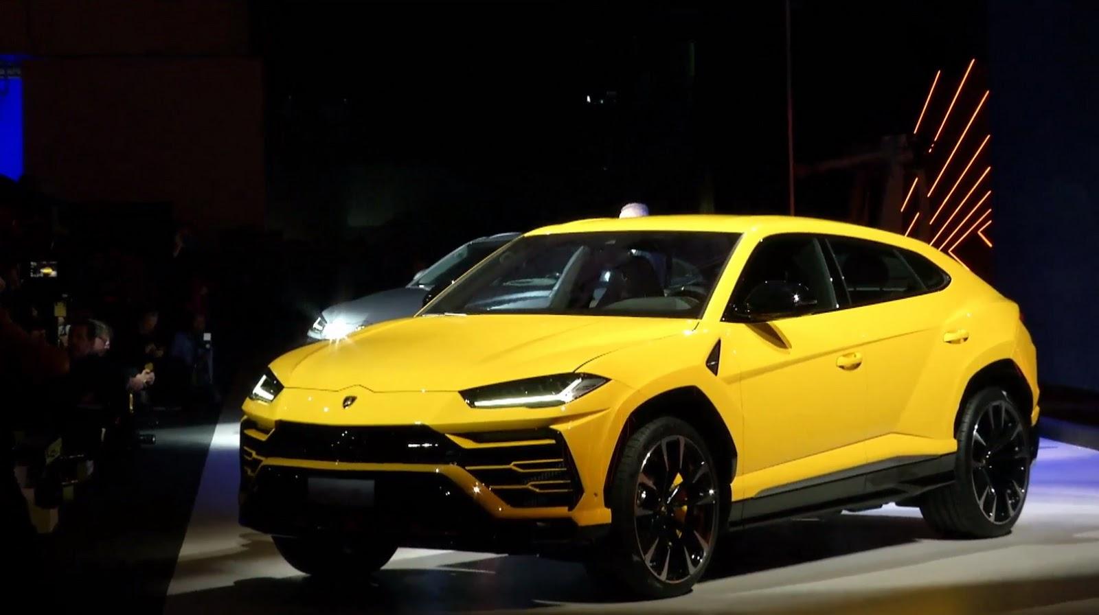 Lamborghini Urus Sonunda Tanıtıldı Otoyazar
